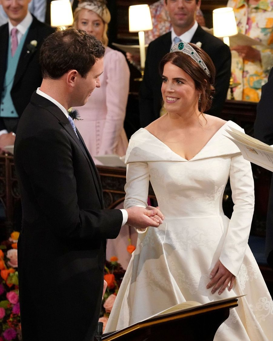 Le Mariage De La Princesse Eugénie D'York En Photos ( 2