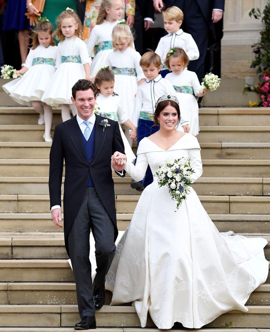 Le Mariage De La Princesse Eugénie D'York En Photos ( 35