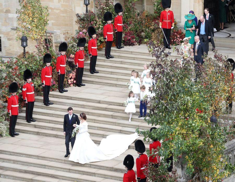 Le Mariage De La Princesse Eugénie D'York En Photos ( 41