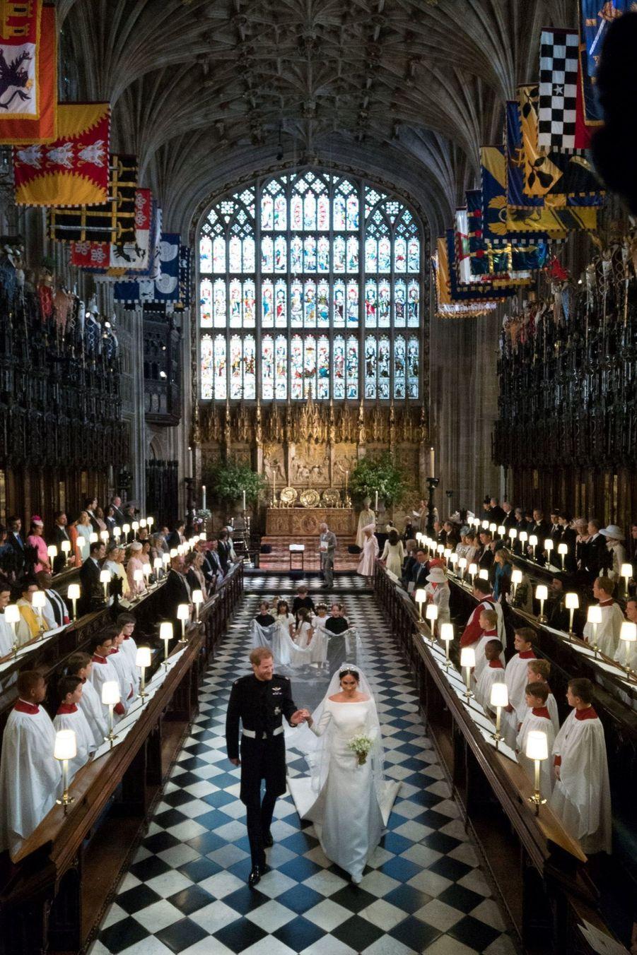 La Robe De Mariée De Meghan Markle ( 14