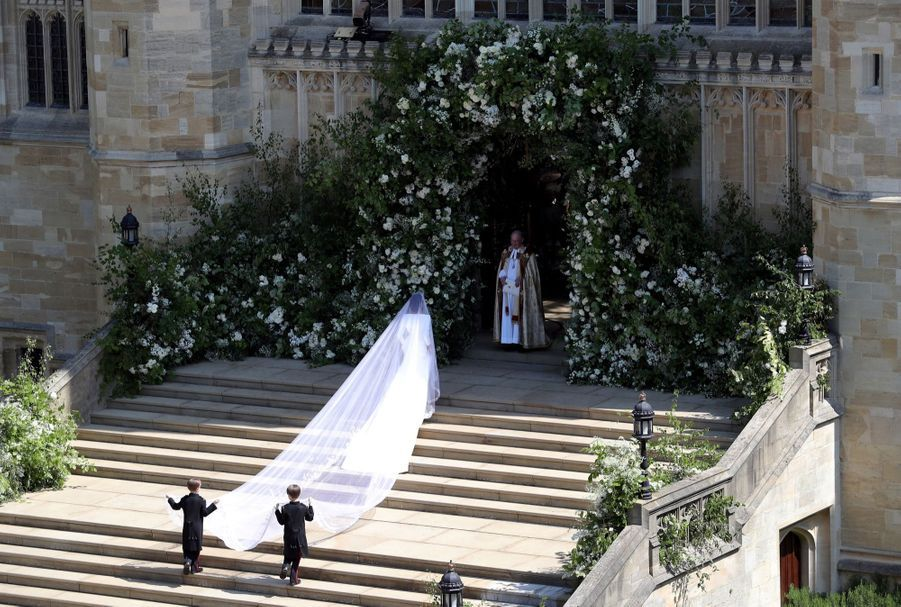 La Robe De Mariée De Meghan Markle (2