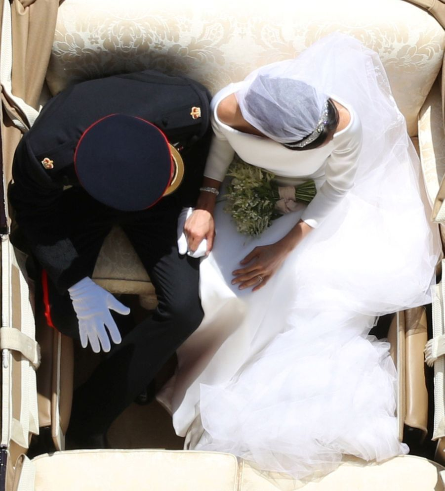 La Robe De Mariée De Meghan Markle ( 4