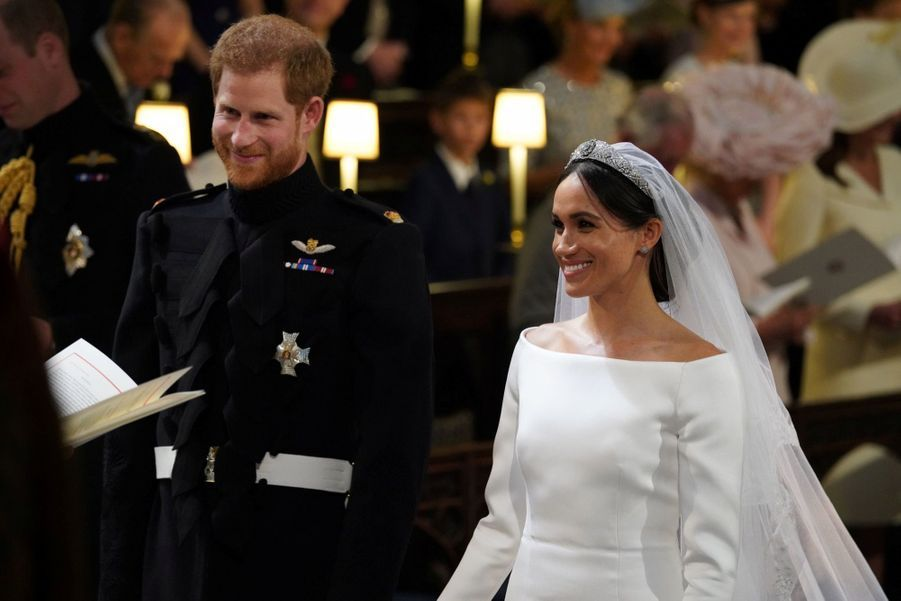La Robe De Mariée De Meghan Markle ( 6