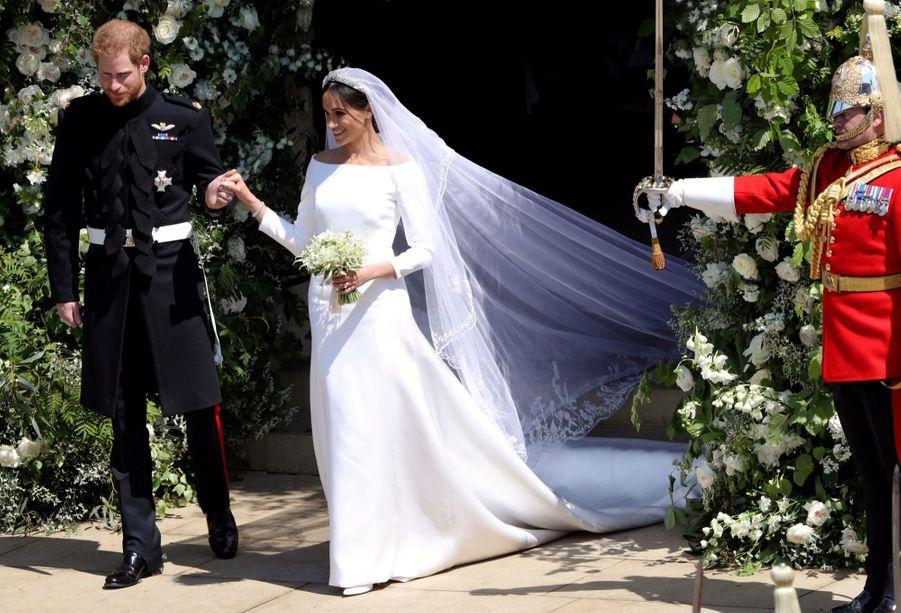 La Robe De Mariée De Meghan Markle ( 7