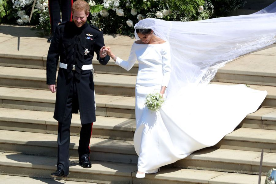 La Robe De Mariée De Meghan Markle ( 9