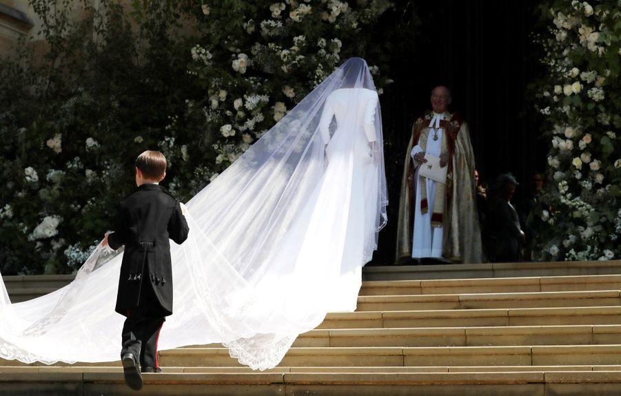 La Robe De Mariée De Meghan Markle En Photos ( 6