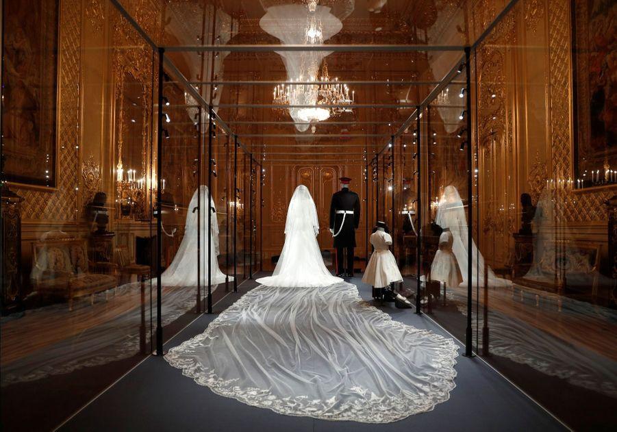 La Robe De Mariee De Meghan Markle Exposee A Windsor