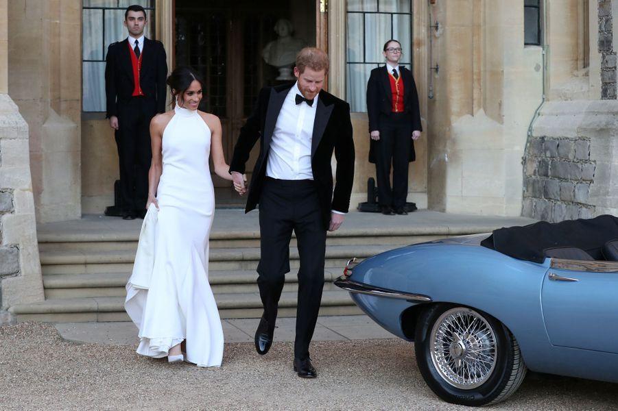 Meghan Markle et le prince Harry, le jour de leur mariage, le 19 mai 2018