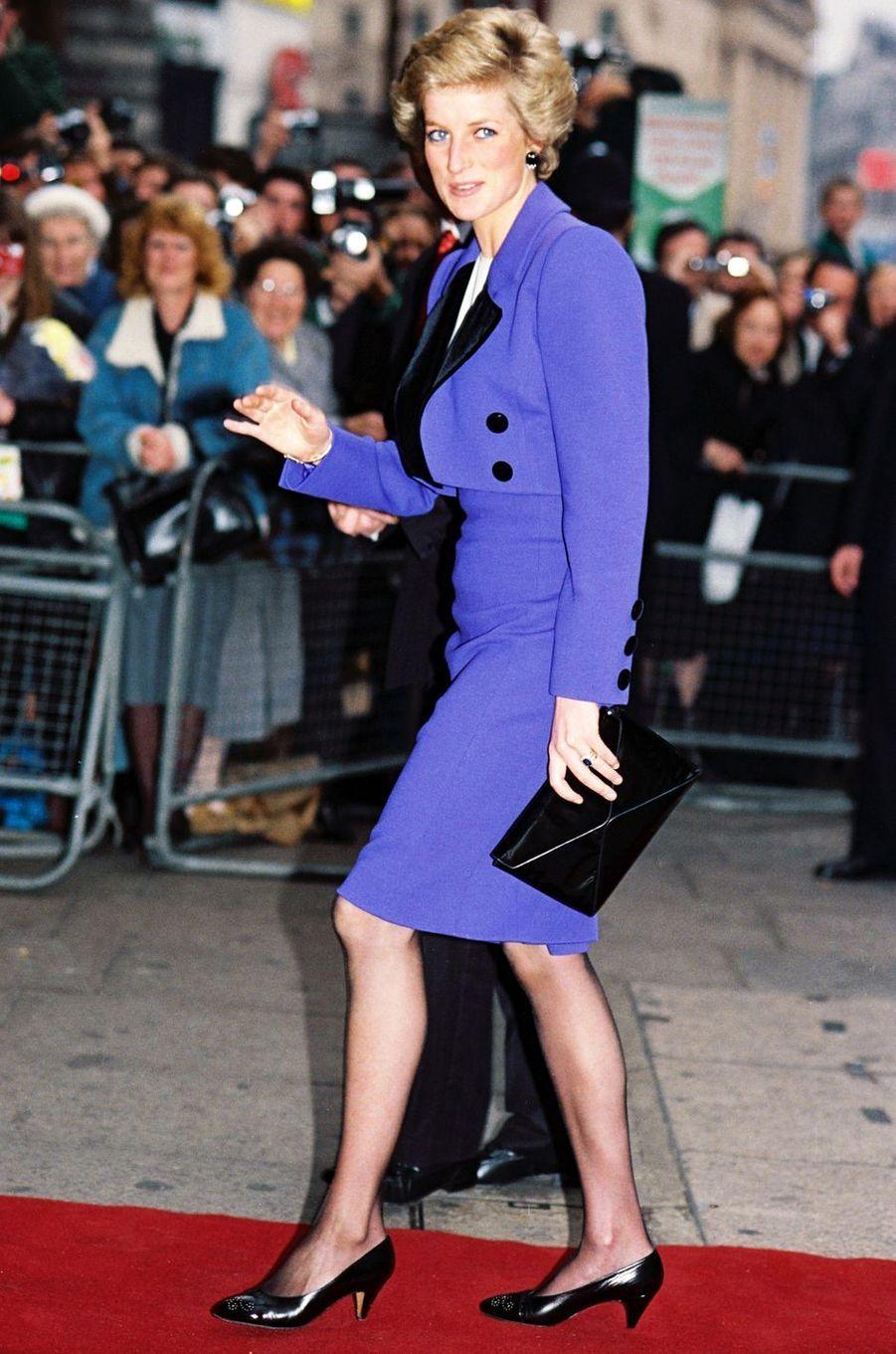 Lady Diana le 13 décembre 1985