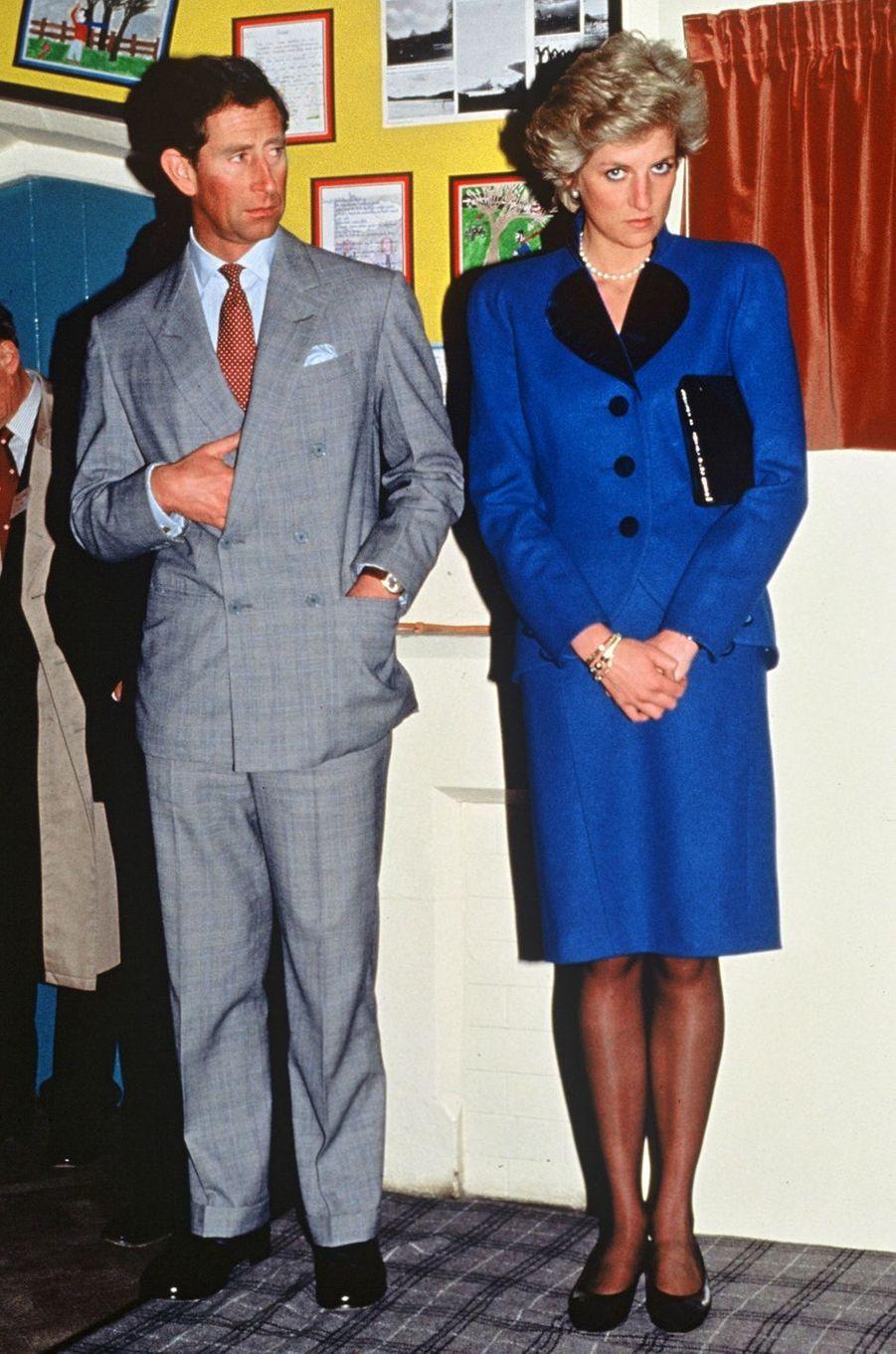 Lady Diana le 12 novembre 1992