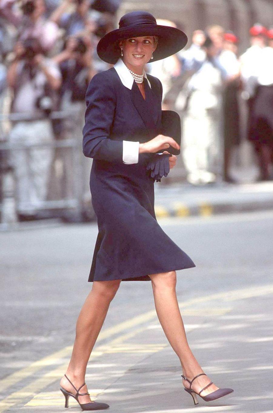 Lady Diana le 10 juillet 1994