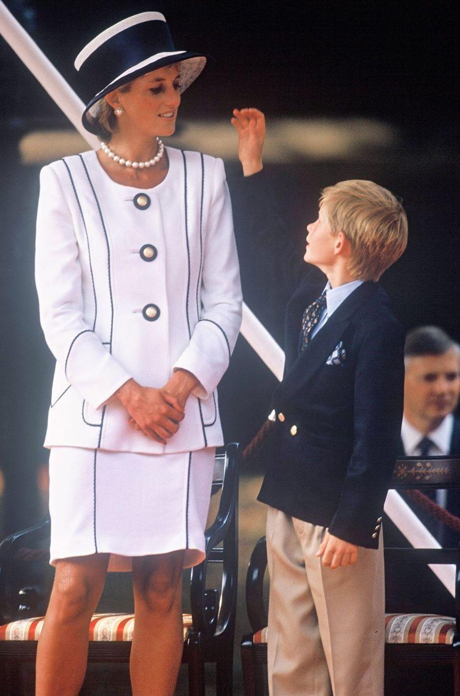 Lady Diana le 19 août 1995