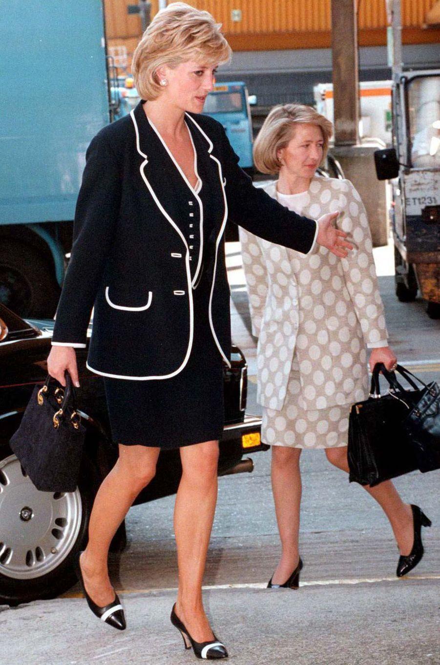 Lady Diana le 5 juin 1996