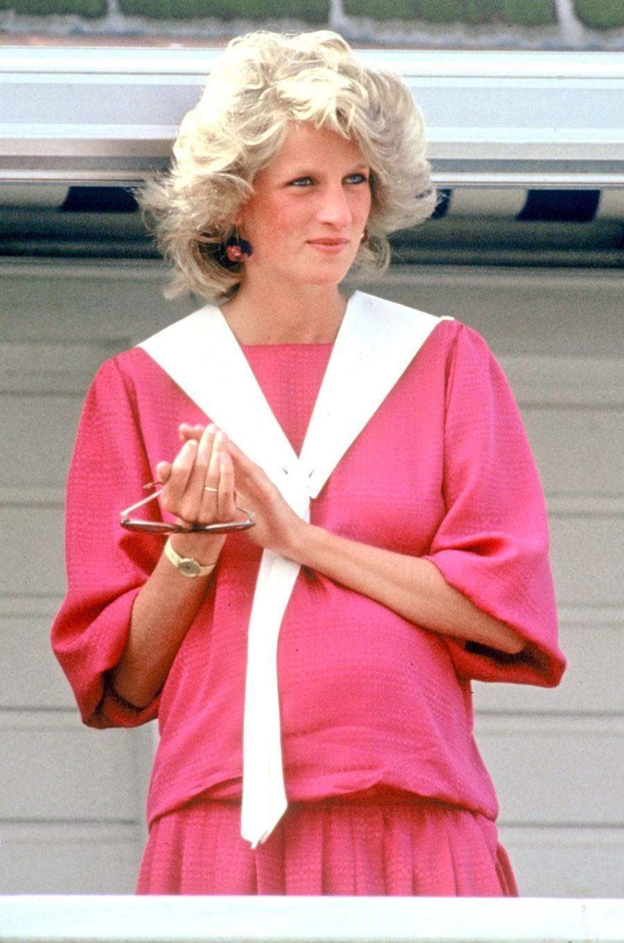 Lady Diana en juillet 1984