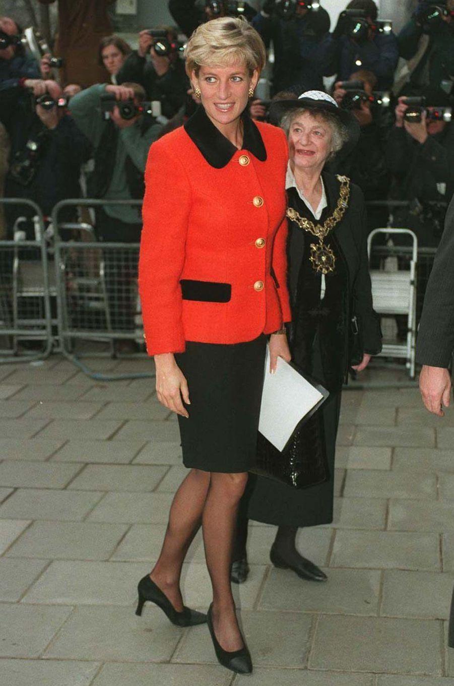 Lady Diana le 10 décembre 1996