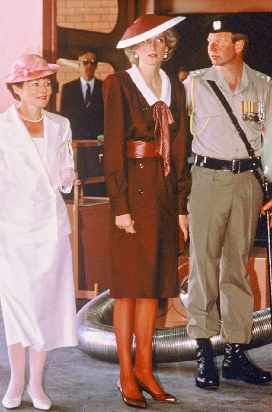 Lady Diana le 31 octobre 1985