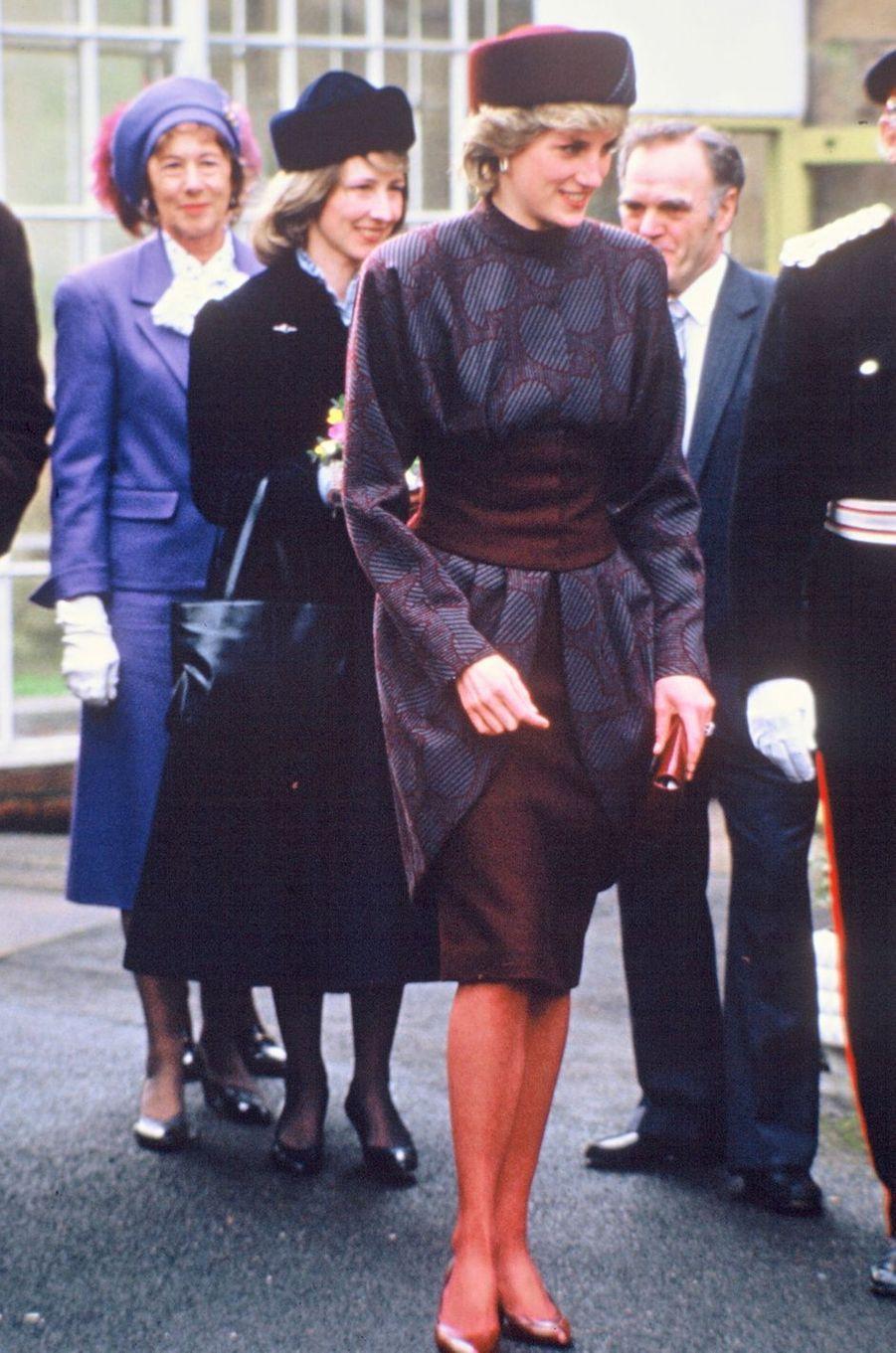 Lady Diana le 19 février 1986