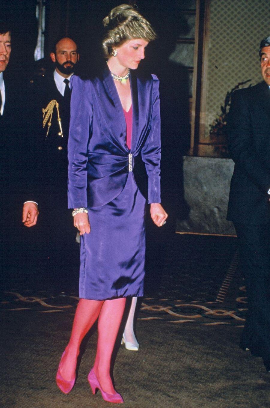 Lady Diana le 7 mai 1986