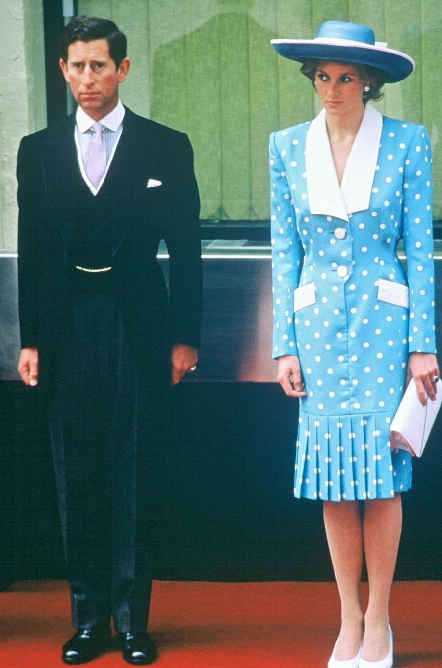 Lady Diana le 10 mai 1989