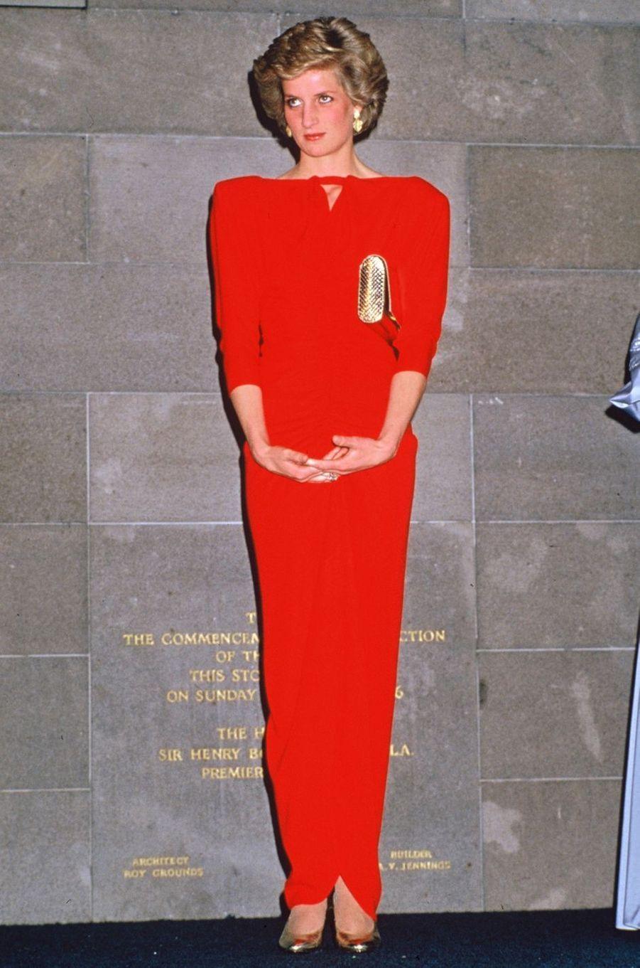 Lady Diana le 31 octobre 1985