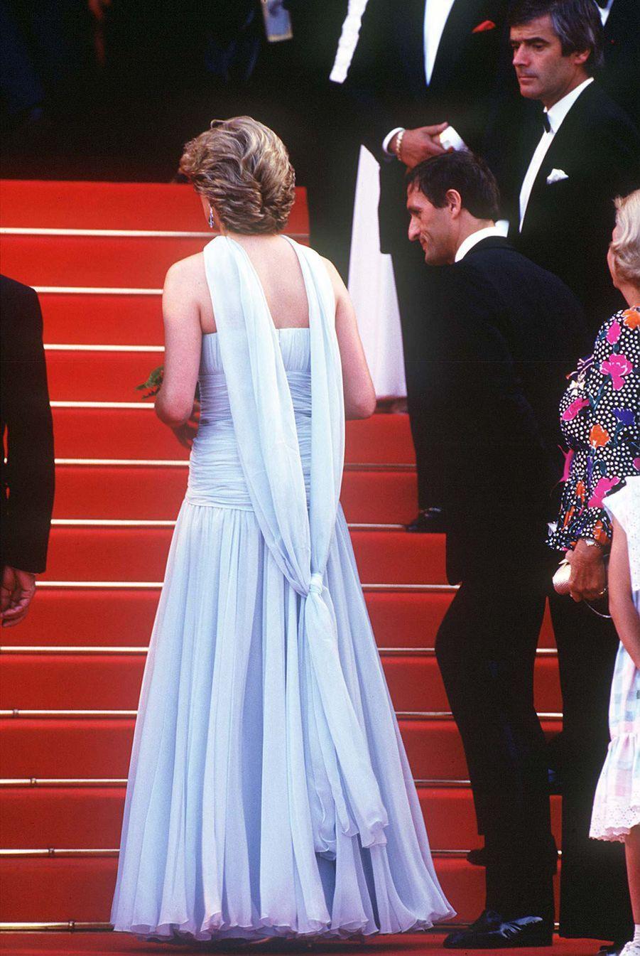 Lady Diana en mai 1987