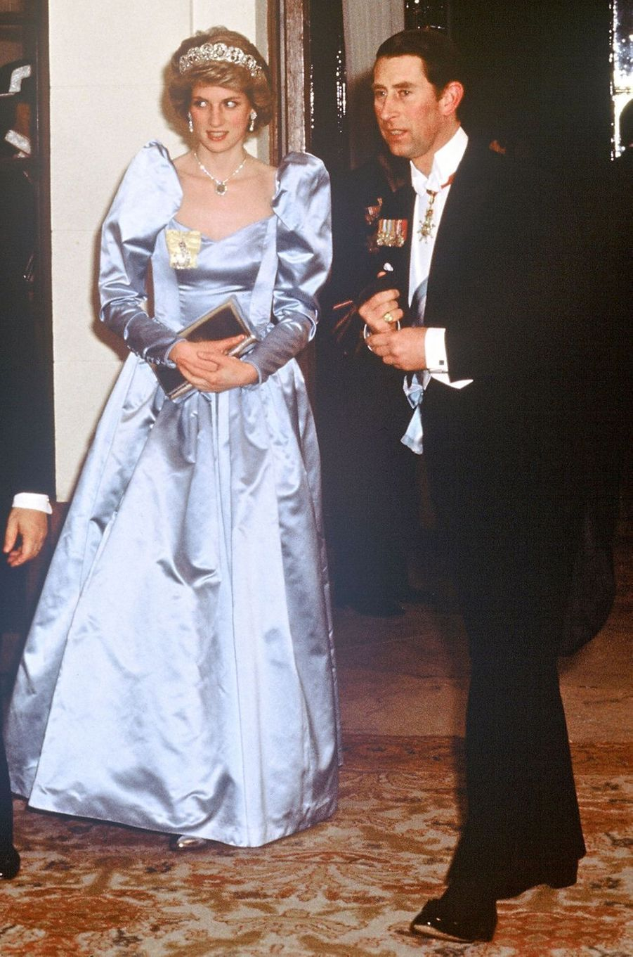 Lady Diana en avril 1986