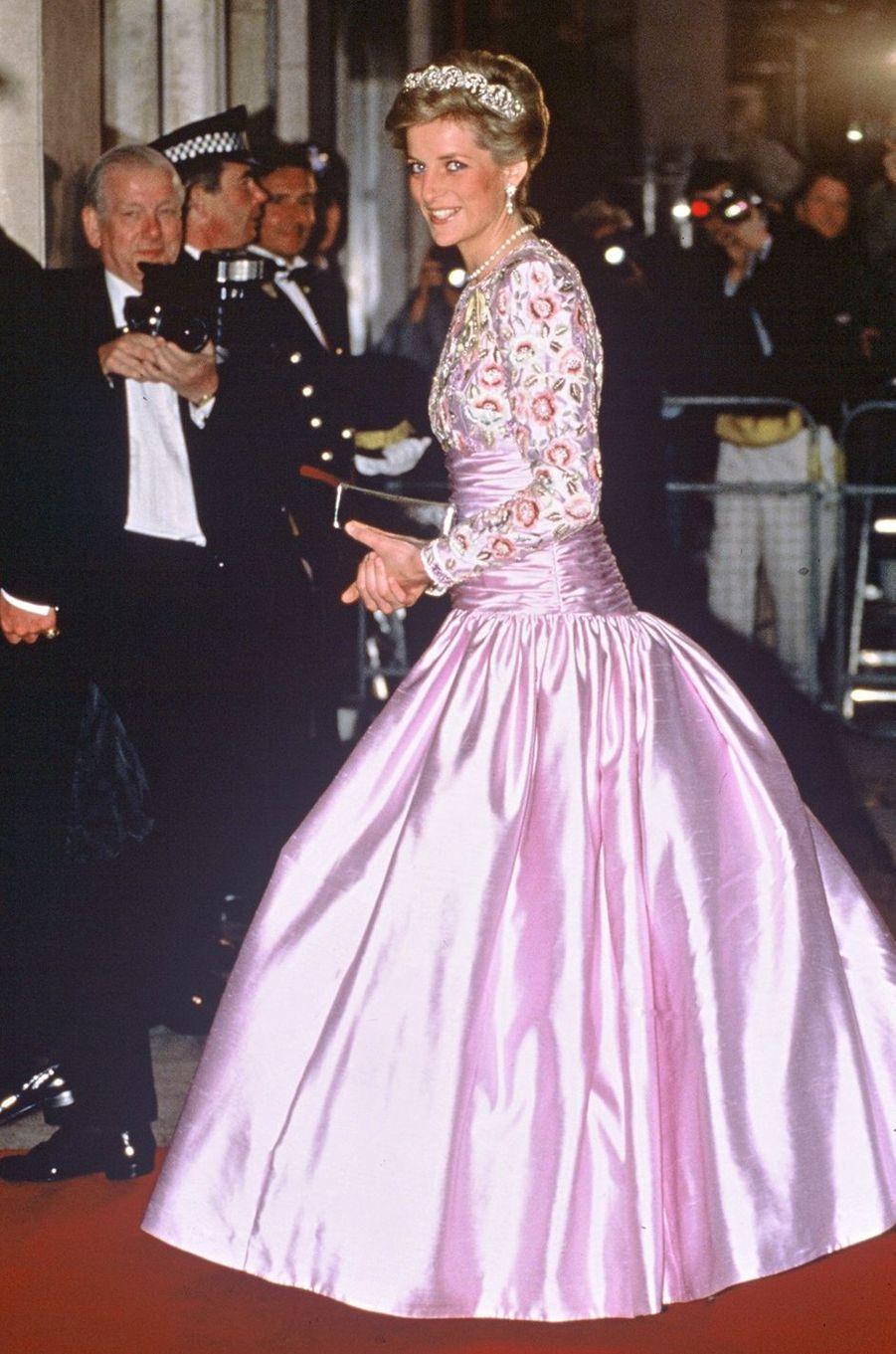 Lady Diana le 11 mai 1989