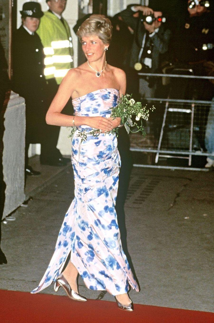 Lady Diana le 17 janvier 1989