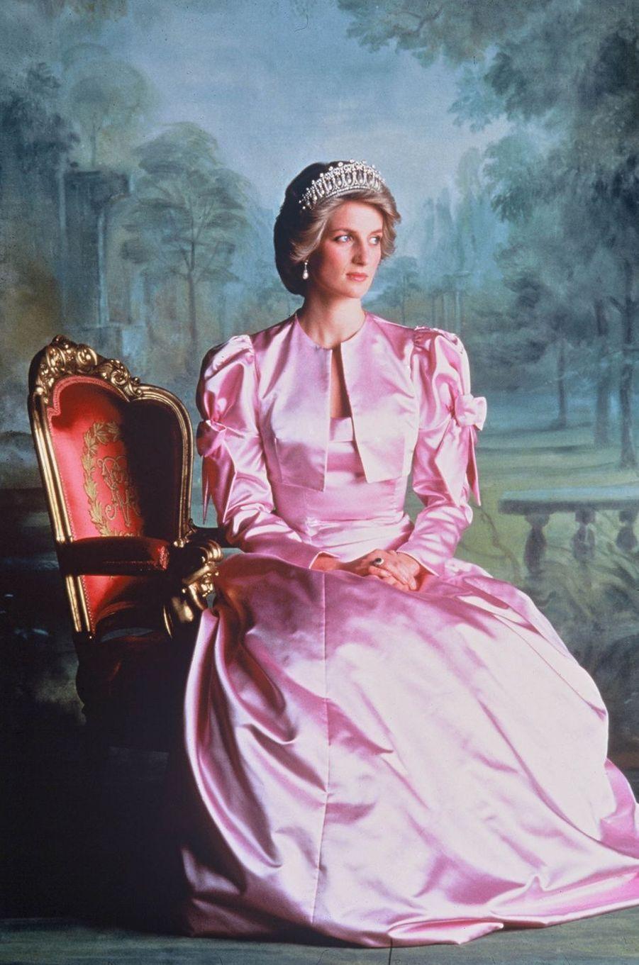 Lady Diana le 1er avril 1985