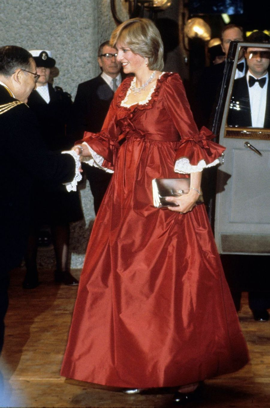 Lady Diana le 1er mars 1982