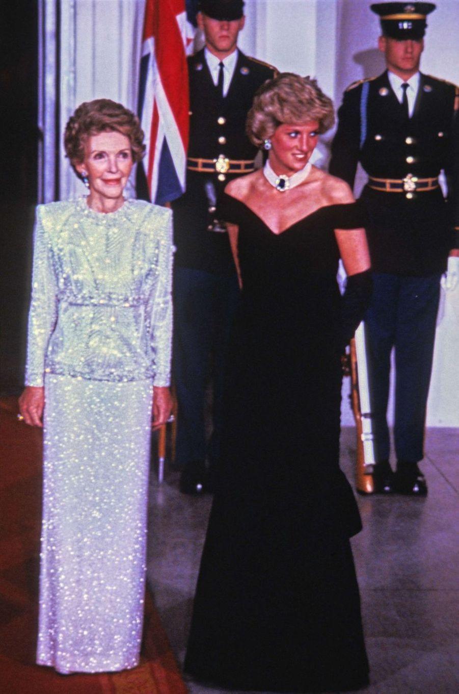 Lady Diana le 9 novembre 1985