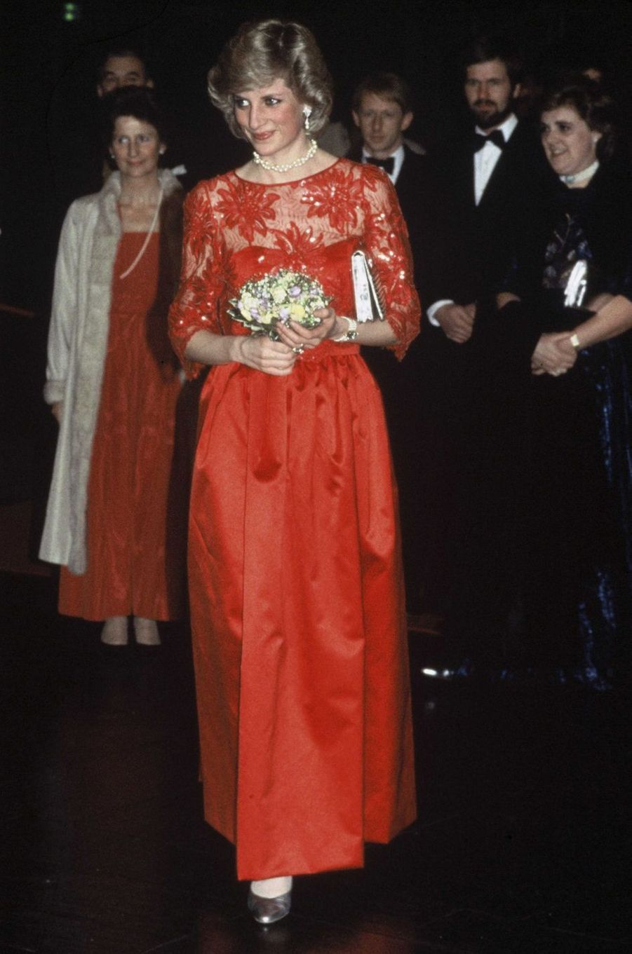 Lady Diana le 12 février 1984