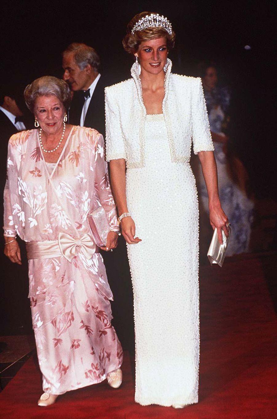 Lady Diana le 30 janvier 1997