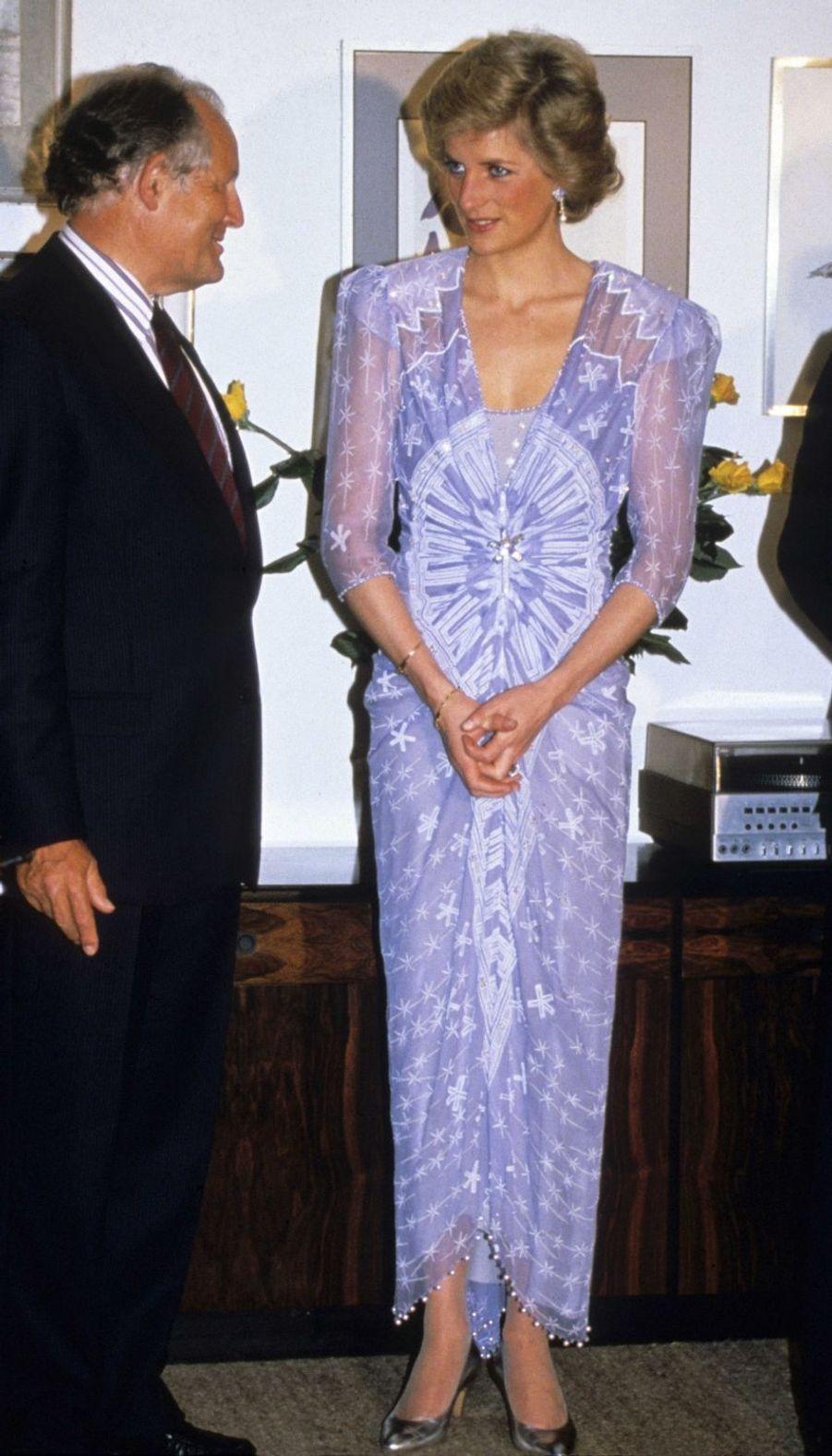 Lady Diana le 1er mars 1989