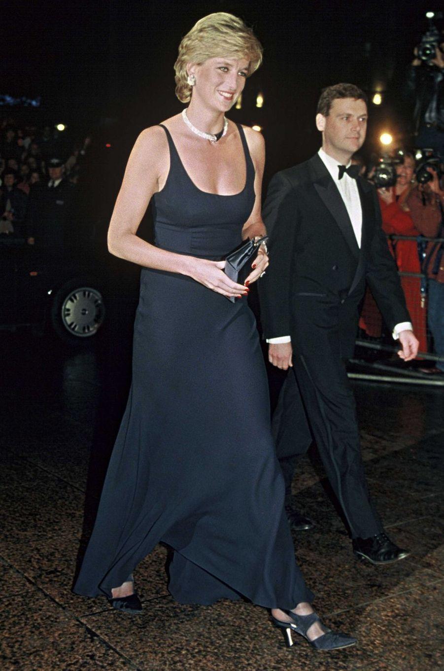 Lady Diana le 1er octobre 1995