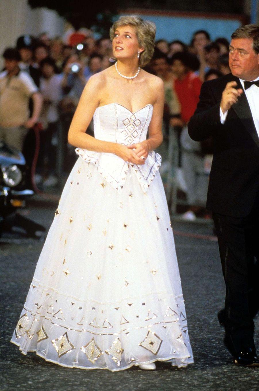 Lady Diana le 15 juin 1987