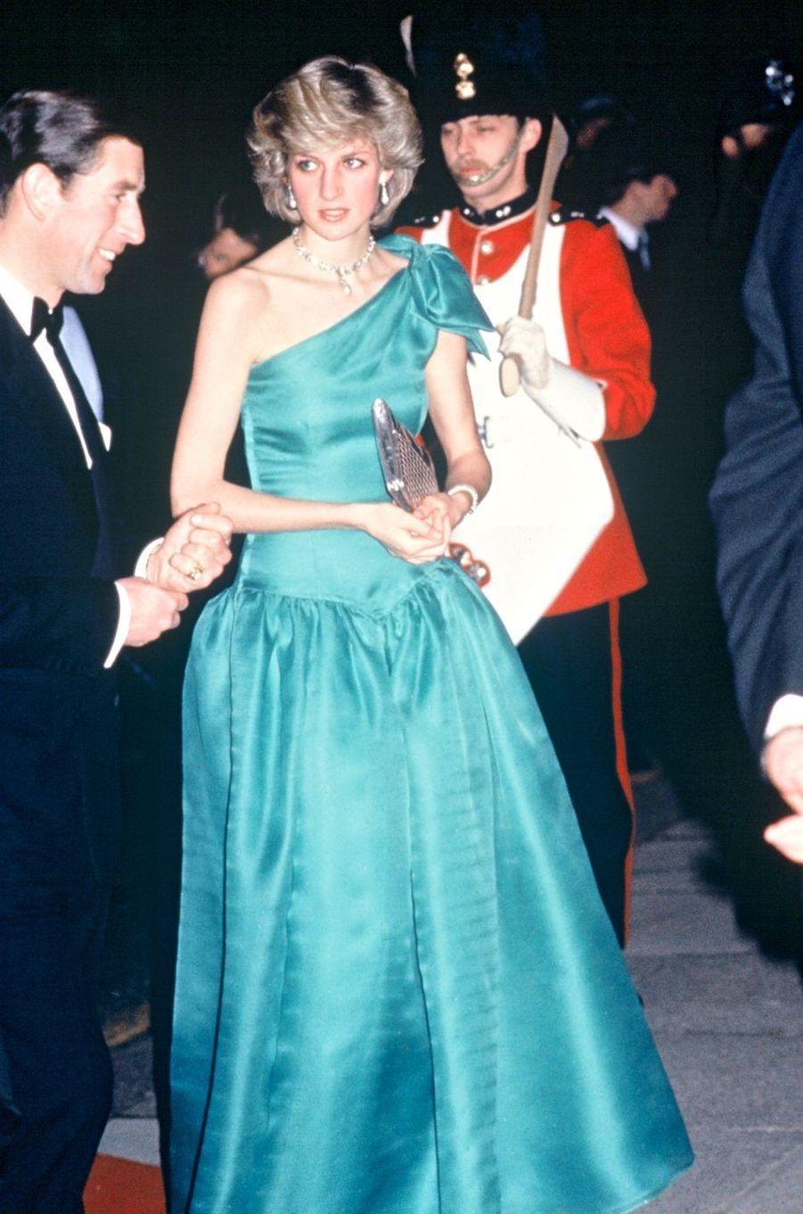 Lady Diana le 1er décembre 1983