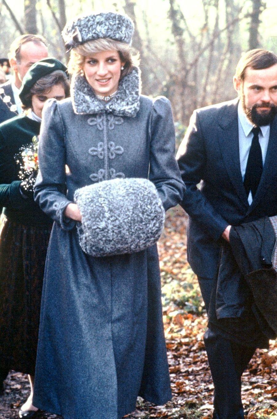 Lady Diana le 9 décembre 1983