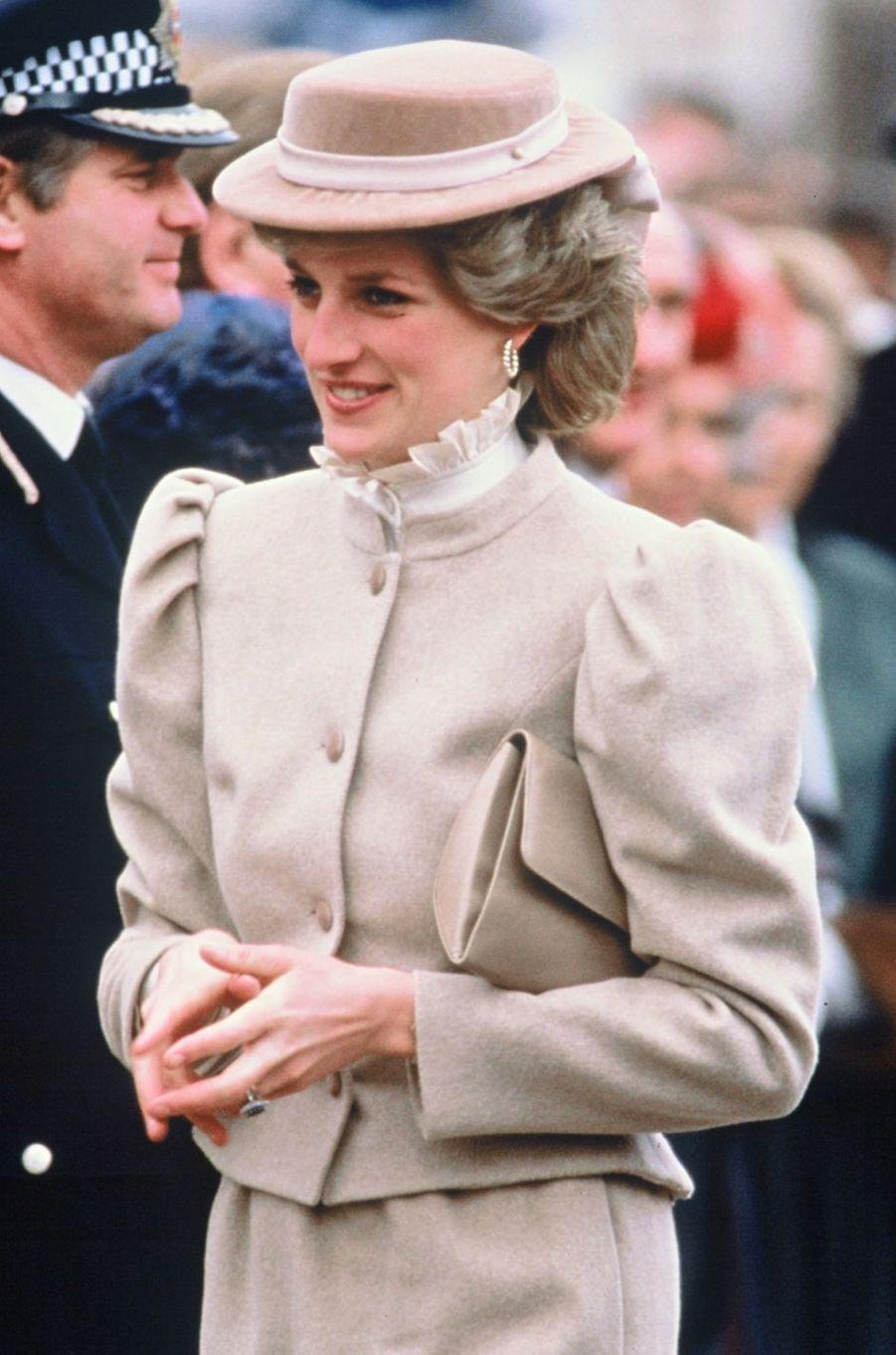 Lady Diana le 17 mars 1986