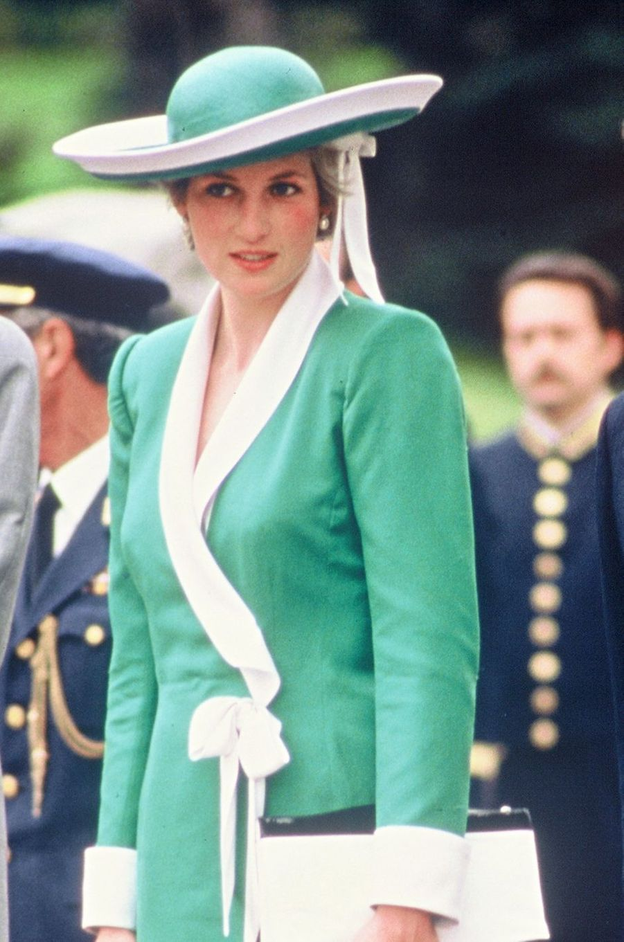 Lady Diana le 24 avril 1987