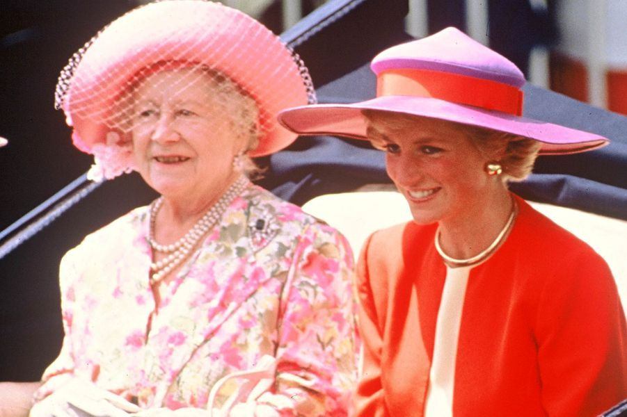 Lady Diana le 20 juin 1990
