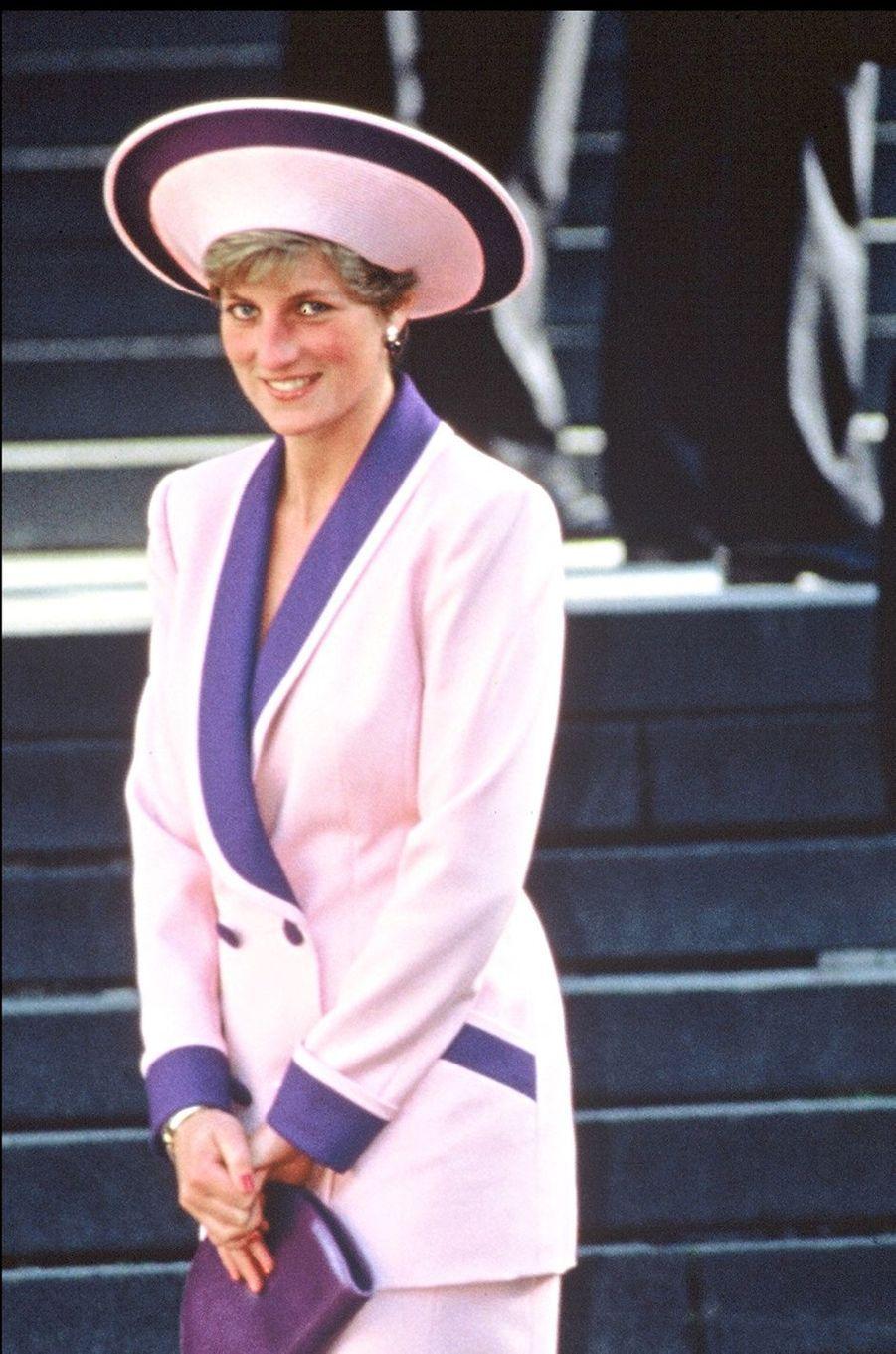 Lady Diana le 26 novembre 1990