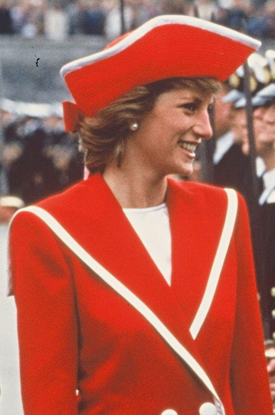 Lady Diana en 1990