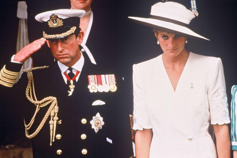 Lady Diana le 21 juin 1991