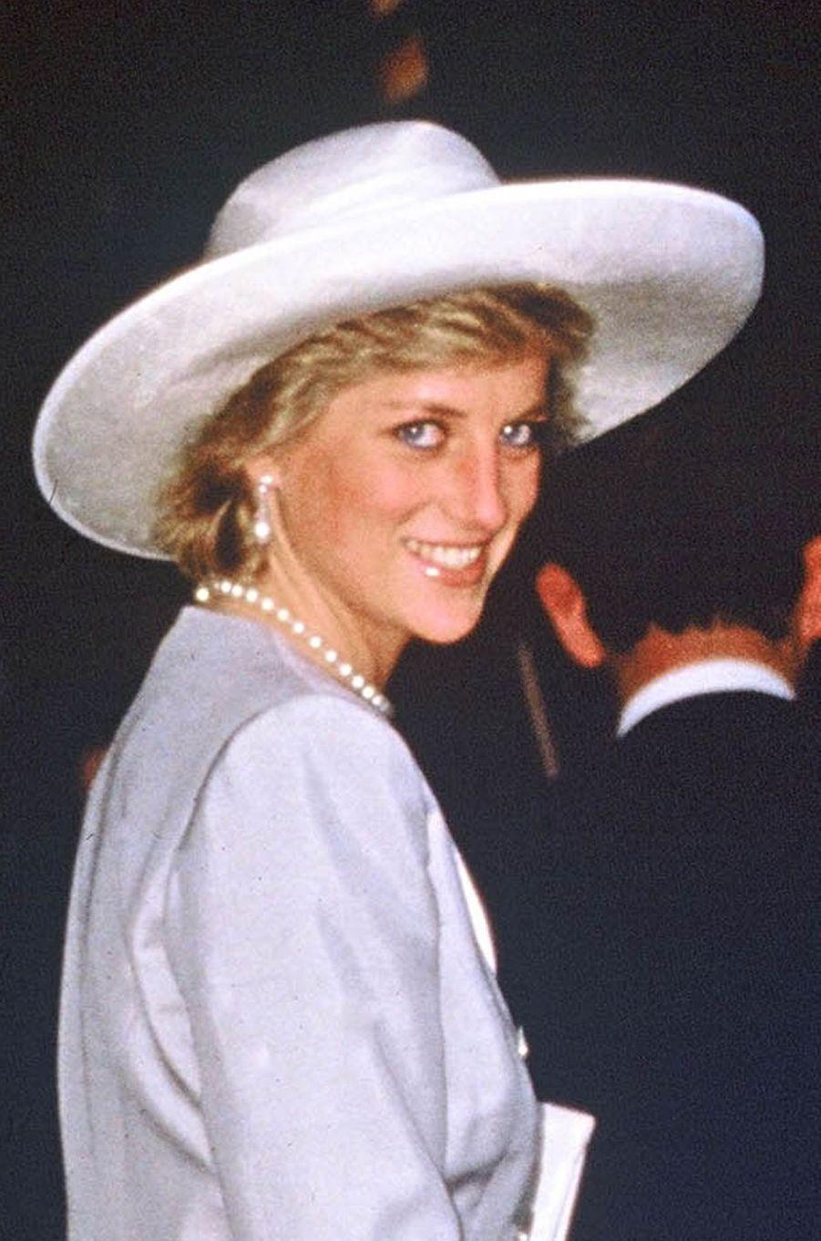 Lady Diana le 31 août 1984