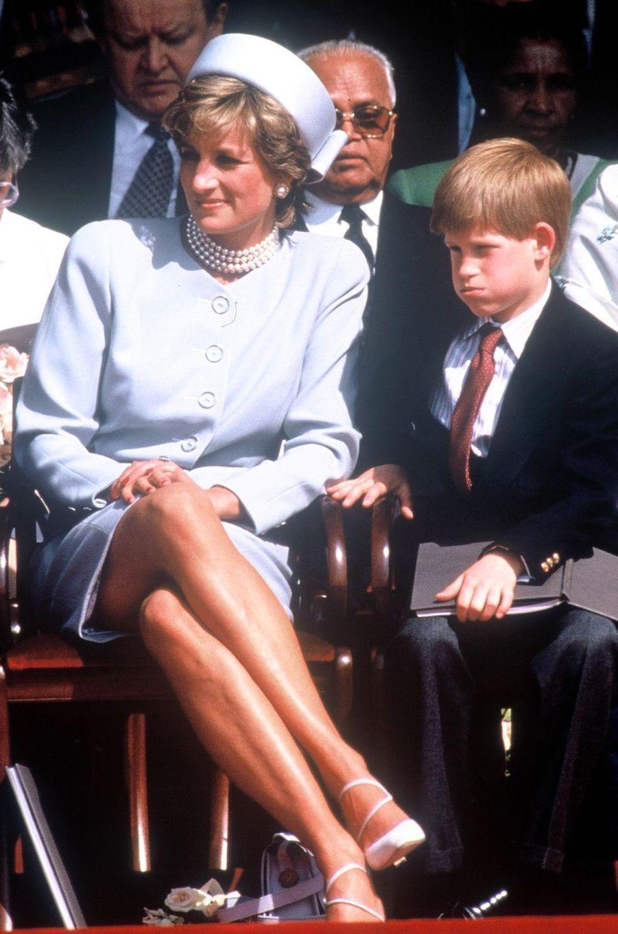 Lady Diana le 7 mai 1995