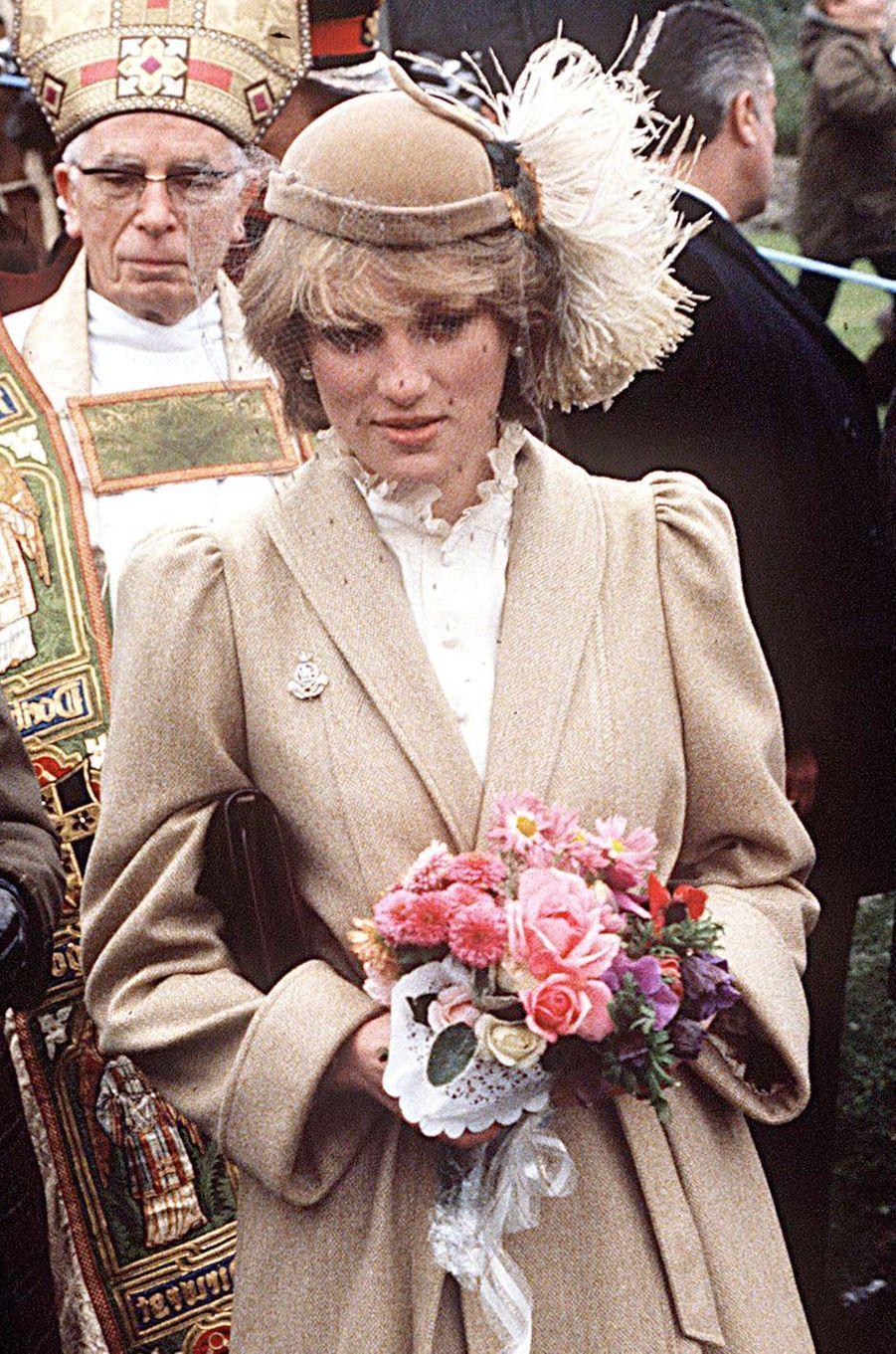 Lady Diana en novembre 1981