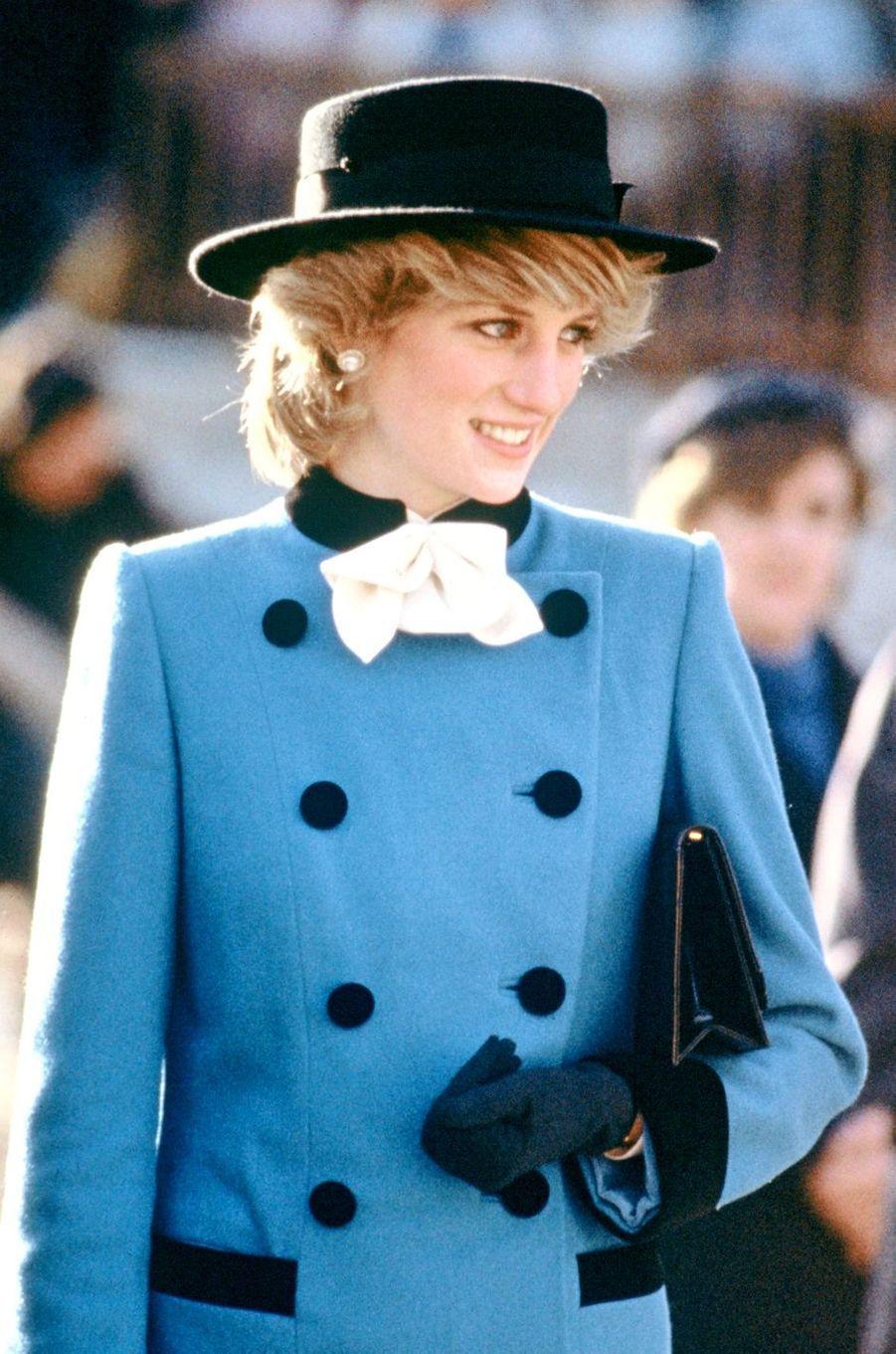 Lady Diana le 25 novembre 1983