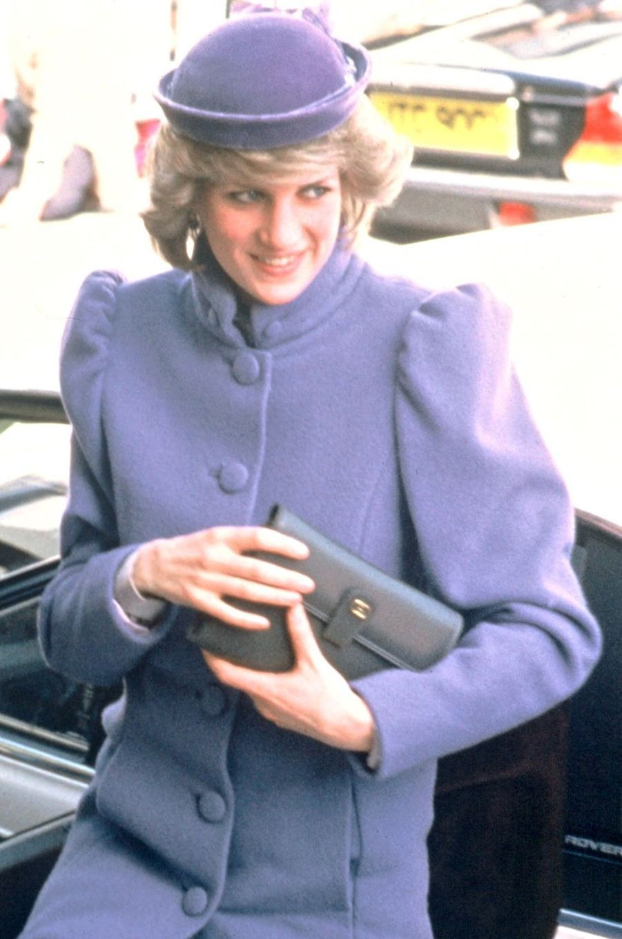 Lady Diana le 9 avril 1984