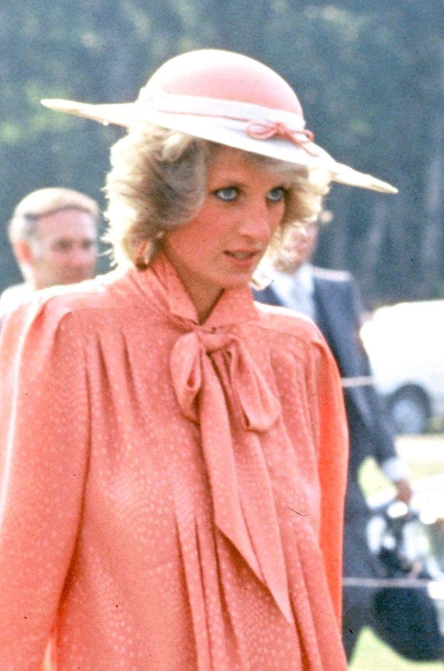 Lady Diana le 25 juin 1984